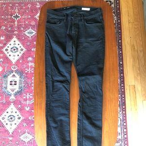 All Saints cigarette jeans black